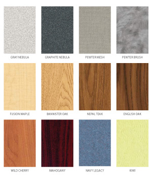 Finishes - Standard Laminate Colors