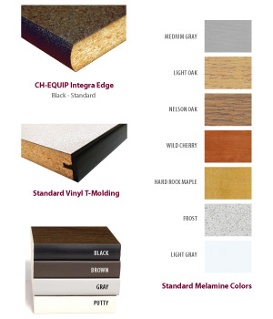 Finishes - Standard Melamine Colors